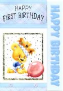 Boys First Birthday Card